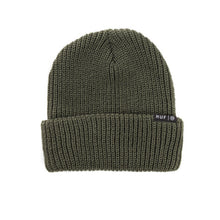 Load image into Gallery viewer, HUF Single Fold olive beanie