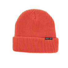 Load image into Gallery viewer, HUF Single Fold orange beanie