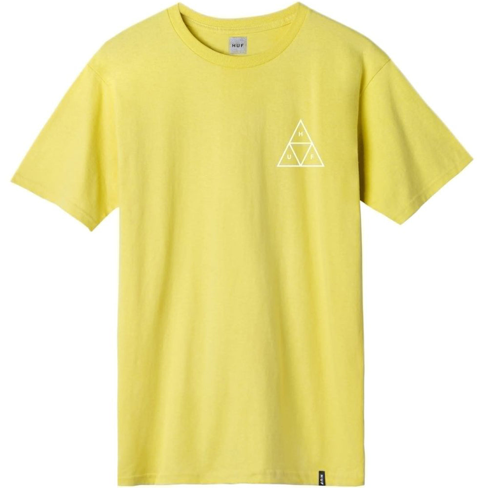 HUF Space Beach Triple Triangle T shirt yellow