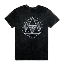 Load image into Gallery viewer, HUF Third Eye Triangle / Style 2 black T shirt