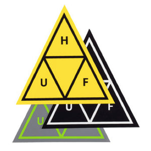 HUF Triple Triangle 25 sticker pack