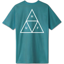 Load image into Gallery viewer, HUF Triple Triangle Tee quetzal green