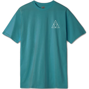 HUF Triple Triangle Tee quetzal green