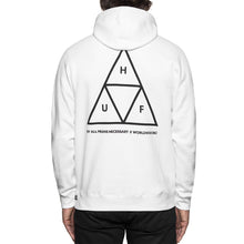 Load image into Gallery viewer, HUF Triple Triangle white hood