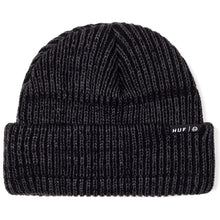 Load image into Gallery viewer, HUF Usual black heather beanie hat