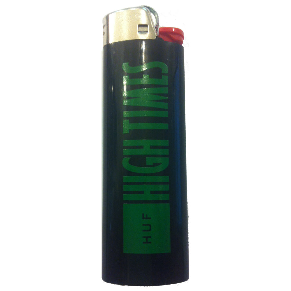 HUF x High Times Bic black lighter