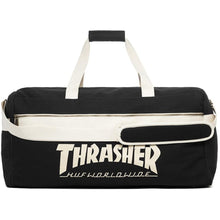 Load image into Gallery viewer, HUF x Thrasher black Duffle Bag