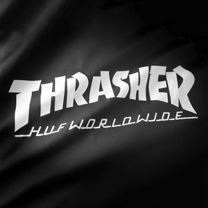 HUF x Thrasher Classic H black coach jacket