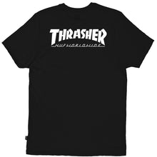 Load image into Gallery viewer, HUF x Thrasher Classic H black T shirt