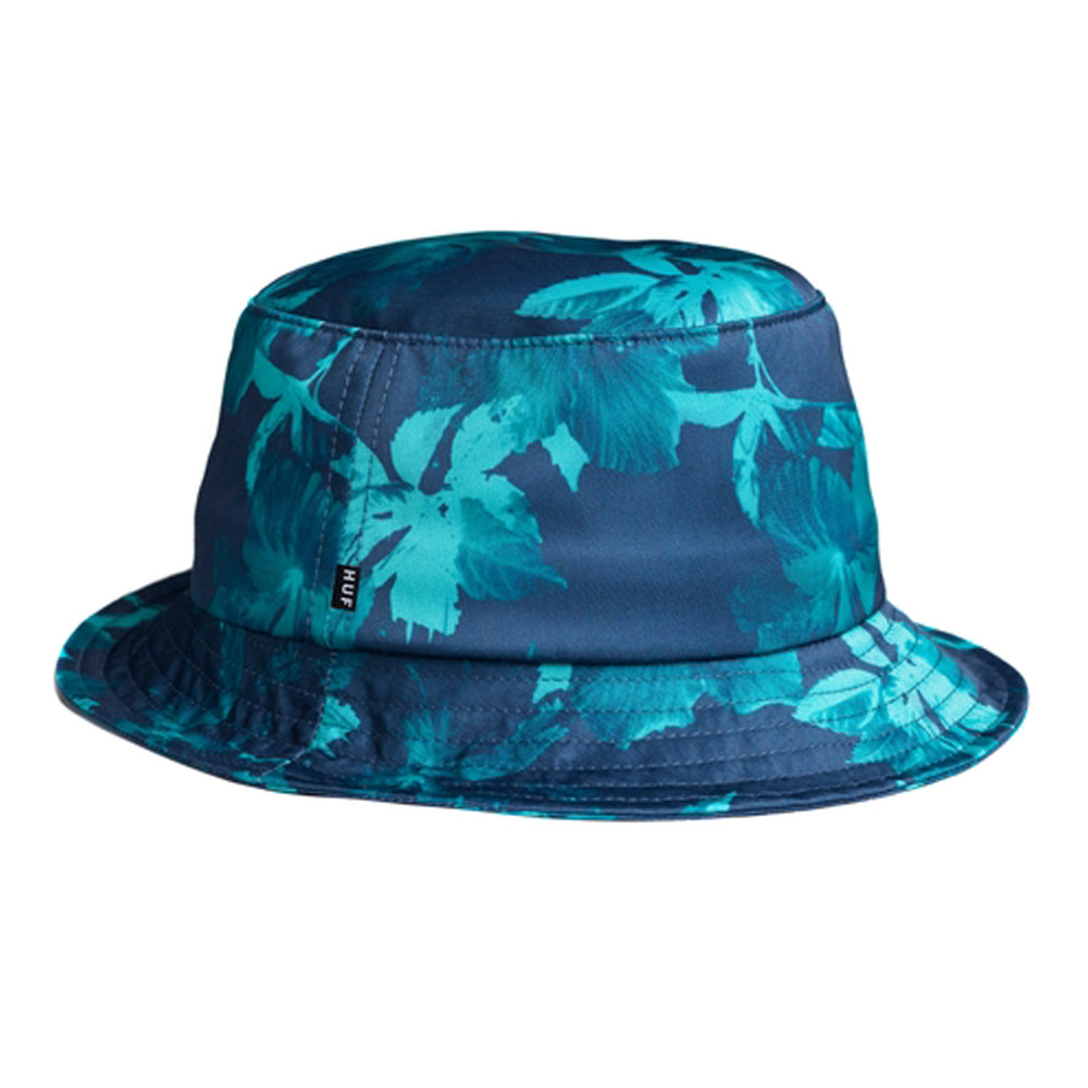 Huf Floral bucket hat Navy