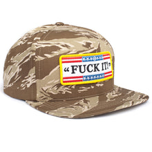 Load image into Gallery viewer, HUF Fuck It 5 panel snapback cap