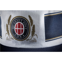 Load image into Gallery viewer, HUF Authentic Pillbox navy/white snapback cap