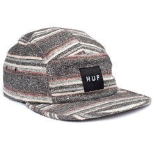 Load image into Gallery viewer, HUF Hyogo black volley 5 panel cap