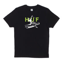 Load image into Gallery viewer, Huf Joyride black T shirt