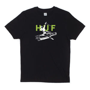 Huf Joyride black T shirt