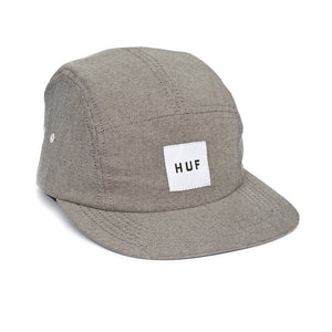 HUF Oxford black volley 5 panel cap