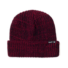 Load image into Gallery viewer, HUF Usual burgundy beanie hat