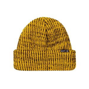 HUF Usual yellow beanie hat