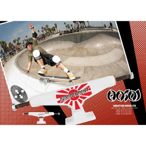 Independent Hosoi 149 Stage 10 trucks (pair)