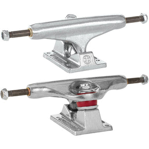 Independent 139 Low stage 11 silver trucks 8""