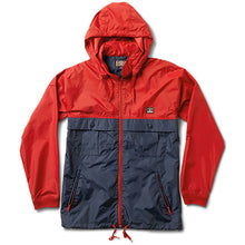 Load image into Gallery viewer, Fourstar Ishod Tour cardinal/navy jacket