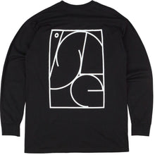 Load image into Gallery viewer, Isle Jigsaw black long sleeve T shirt