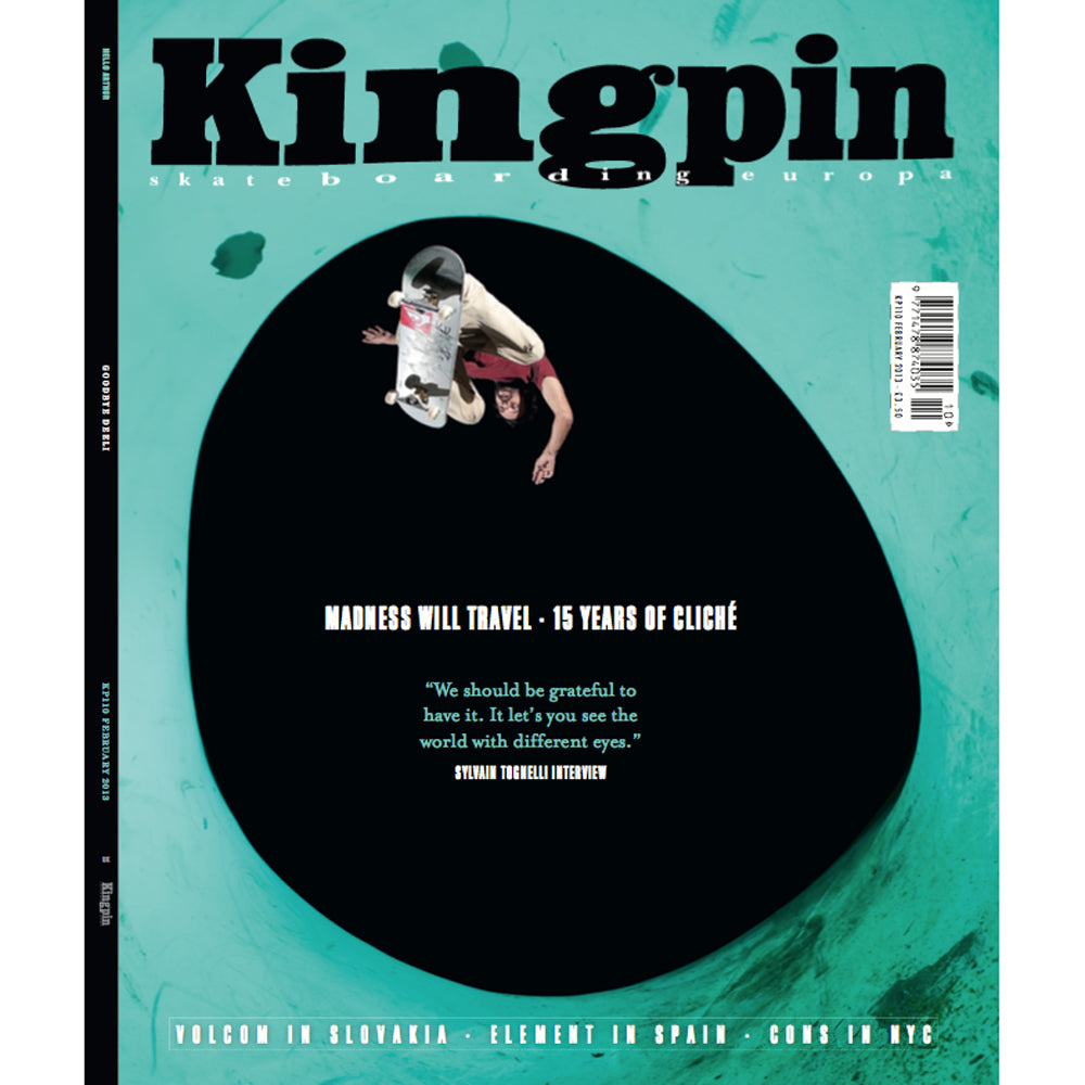 Kingpin magazine February 2013 issue 110