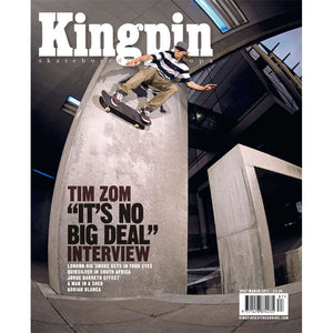Kingpin magazine March 2011 issue 87