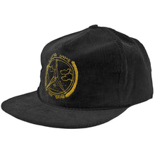 Load image into Gallery viewer, Krooked Benzo Unstructured black snapback cap