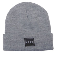 Load image into Gallery viewer, KR3W Jersey grey beanie