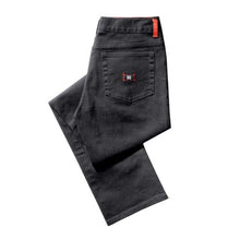 Load image into Gallery viewer, KR3W K Slim black rock denim