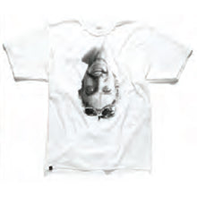 Load image into Gallery viewer, KR3W Lizard Flip white T shirt