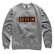 Load image into Gallery viewer, KR3W Lock Up gunmetal heather crew