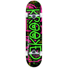 Load image into Gallery viewer, Krooked Katonik large green complete skateboard