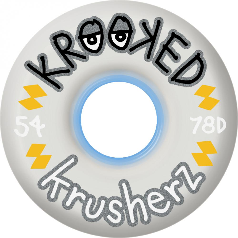 Krooked Klear Krushers translucent 56mm wheels