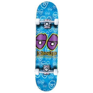 "Krooked Krookeye medium 7.75"" complete skateboard"