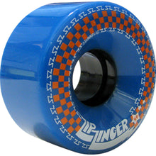 Load image into Gallery viewer, Krooked Zip Zinger blue 58mm wheels