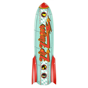 Krooked Rocketship Zip Zinger deck