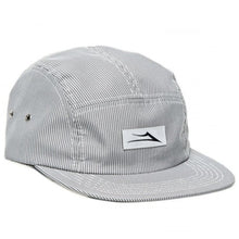 Load image into Gallery viewer, Lakai Pinstripe grey 5 panel cap
