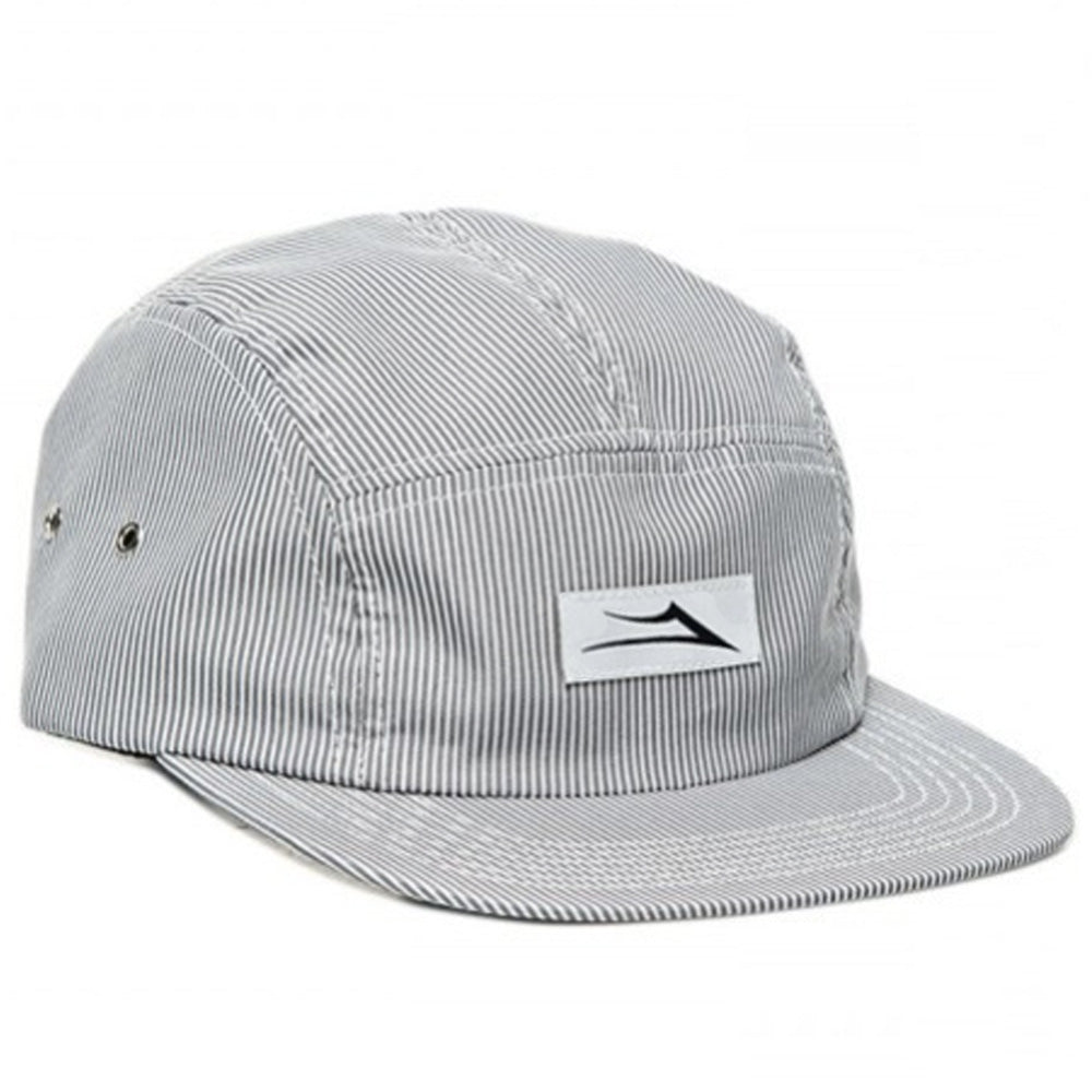 Lakai Pinstripe grey 5 panel cap