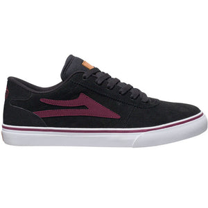 Lakai Manchester Select black suede/burgundy