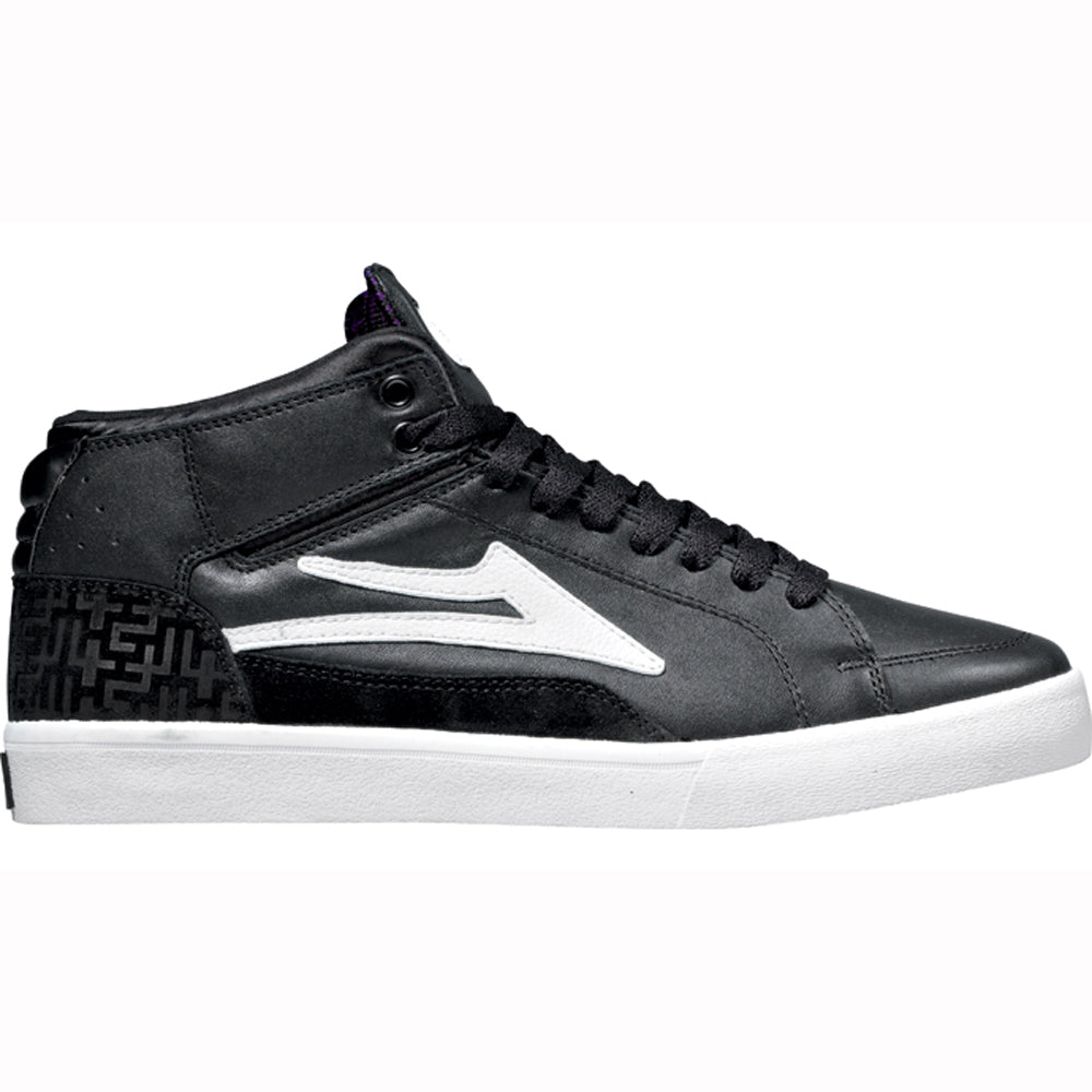 Lakai Guy Hi black leather