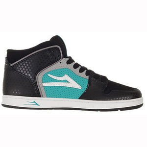 Lakai Telford black/turquoise leather