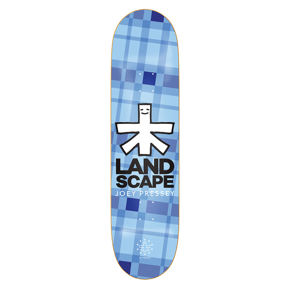 Landscape Pressey Plaid deck 8.1