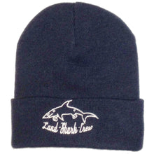 Load image into Gallery viewer, Land Shark navy beanie