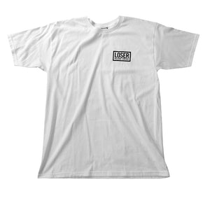 Loser Machine Bedtime white T shirt