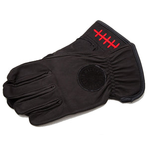 Loser Machine death grip black gloves large