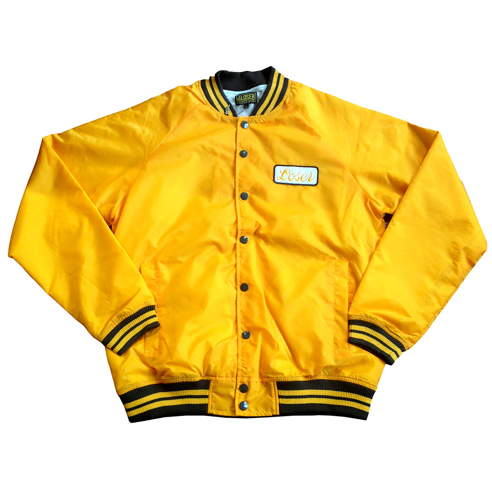 Loser Machine Heavyweight mustard bomber jacket