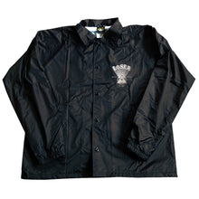 Load image into Gallery viewer, Loser Machine Magnetic black coach jacket
