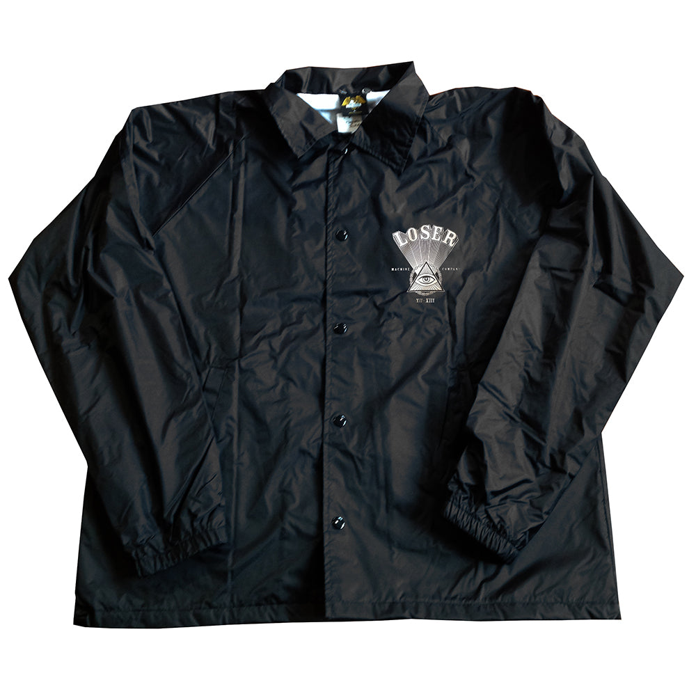 Loser Machine Magnetic black coach jacket